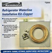 Kenmore Refrigerator Waterline Installation Kit 38444 Copper Tubing Only