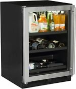 Marvel Ml24bcl 24 Wide 18 Bottle And 162 Can Built In Wine And Beverage Cooler