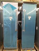 Out Of Box Viking 24 Freezer 24 Refrigerator Stainless Steel Columns