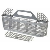 Kitchen Dishwasher Basket Silverware Basket Assembly For Ge Wd28x10128 Durable