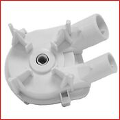 Washer Water Pump Whirlpool Replacement Part Washing Machine Drain Pumps White