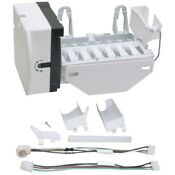 Exact Replacement Parts Erwr30x10093 Ice Maker With Harness For Ge R Wr30x10093