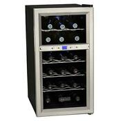 Koldfront Twr181e 14 W 18 Bottle Wine Cooler Stainless Steel