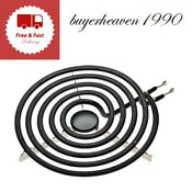Plug In Burner Element Universal 8 In Black Cooking Range Parts Accessories New