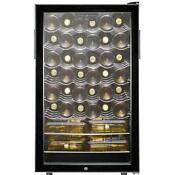 Summit Swc525lbi 42 Bottle 20 W Built In Single Zone Wine Cellar Black