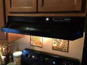 Nutone Rl6200 Series 30 In Ductless Under Cabinet Range Hood W Light In Black