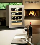 New Out Of Box Liebherr 17 Free Standing Wine Cabinet Stainless Steel 12 Bottle