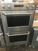 Ge Monogram 30 Double Electric Wall Convection Ovens Stainless