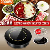 2200w Electric Induction Cooktop Portable Countertop Burner Hot Pot Waterproof