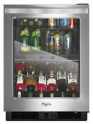 Whirlpool 24 Undercounter Beverage Center With Dual Temperature Wub50x24em
