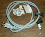 Kenmore Elite He3 Washer 44832202 Power Cord 110 44832202 Tested