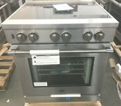 Beko New Out Of Box 30 Inch Induction Range Stainless Steel