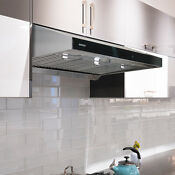 Koozzo 30 36 Ducted Under Cabinet Stainless Steel Range Hood 860cfm