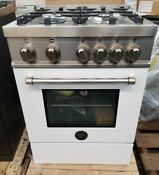 New Out Of Box Bertazzoni 24 Inch Gas Range White Color