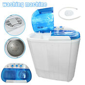 Mini Portable Washing Machine Spin Dryer Compact Washer For Home Apartments