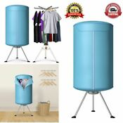 Clothes Dryer Folding Drying Machine Heater Portable Ventless Laundry Dry Safe