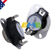 2 Pcs Dc47 00018a 35001092 L260 50f Thermal Fuse Thermostat For Samsung Dryer