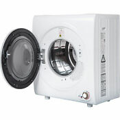 2 65 Cu Ft Compact Laundry Dryer Clothes Dryer 9 Lbs Capacity Compact Tumble Dr