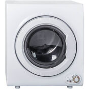 2 65 Cu Ft Electric Tumble Dryer Compact Laundry 9 Lbs Capacity Wall Mounted
