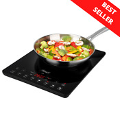 New Portable Digital Electric Induction Cooktop Countertop Burner Cooker 1500w