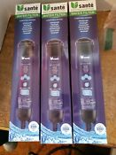 Sante Refrigerator Water Filter 3 Pack Whirlpool Edr3rxd1 4396841 New Sealed