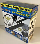 Dryer Max Vent Duct Cleaning Lint Trap Removal Vacuum Kit As Seen On Tv