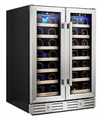 Kalamera Wine Cooler Fit Perfectly Into 24 Inch Space Under Counter Or Fre
