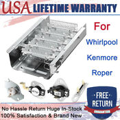 Dryer Heating Element Thermostat For Whirlpool Roper Kenmore 279838 3403585 Us