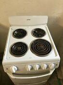 Hot Point Model Ra720k5wh 20 Wide 24 Deep White Oven Range Great Working