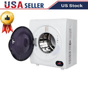 Compact Digital Auto Electric Clothes Dryer Machine Laundry Dry W Led Display
