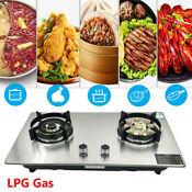 28 Gas Stove Cooktop 2 Burners Built In Kitchen Lpg Gas Stovetop Gas Hob