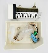 Ice Maker Whirlpool Kenmore Complete Add On Kit W Valve Ice Bucket Wiring