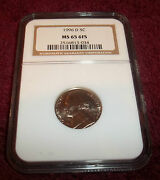 1996-d Ngc Ms65 6fs Full Steps Jefferson Nickel You Choose The One You Want