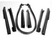 1968-1972 Gm And039aand039 Body Mid Size Convertible Top Roofrail Weather Seal Kit