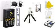 8pc Super Saving Accessory Kit For Canon Powershot Sx110 Is