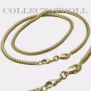 Authentic Trollbeads 14k Gold Necklace Without Lock 16.5
