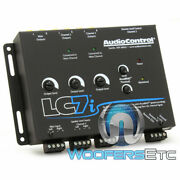 Audio Control Lc7i Black 6 Channel Line Output Converter With Bass Restoration
