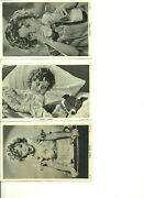 6 Vintage Post Cards Shirley Temple S 1 4 20 22 41 And 42 Fox Films