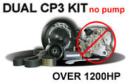 Industrial Injection Duel Twin Cp3 Pump Kit W/out Pump Dodge Truck 03-07