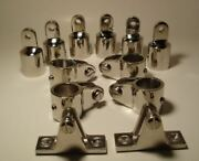 3-bow Bimini Top Boat Stainless Steel Hardware Fittings Set 1 - 12 Pieces