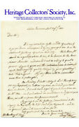 Benjamin West Historical Painter Autograph Signed Letter Dated August 7 1802