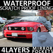2001 2002 2003 Ford Mustang 4layers Waterproof Car Cover