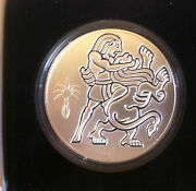 Israel2 Nis2009 Sampson And The Lion Proof Silver Coinbiblical Artholy Land