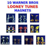 New Retired Warner Bros Looney Tunes Refrigerator Figure Magnets You Pick One
