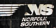 Custom Train Checkbook Covers  13 Norfolk Southern Engines Lionel Mth New