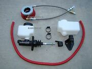 Hydraulic Clutch Conversion Gm Aftermarket T56 6-speed And 83-92 Camaro T5