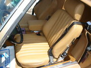 Mercedes Sl R107 380sl 560sl Leather Seat Covers Kit 80-89 German Leather
