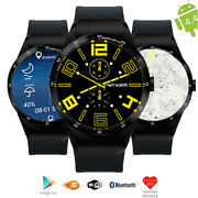 Smart Watch And Phone 3g Android 4.4 Heart Rate Monitor Gsm Unlocked Atandt T-mobile