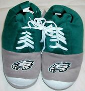 Philadelphia Eagles Slipper Shoes Womenand039s Forever Collectibles M L Nwt Green