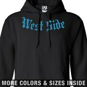 West Side Addict Hoodie Addiction Hooded Sweatshirt Coast - All Sizes And Colors